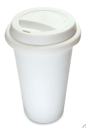 """not paper"" cup $18"