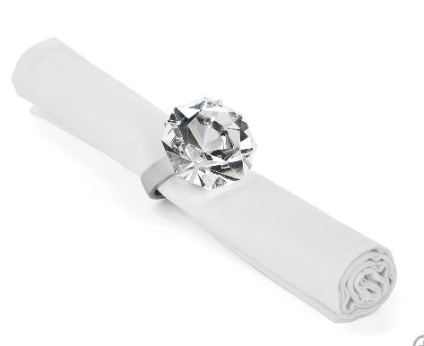sparkle napkin ring $48 (set of 4)