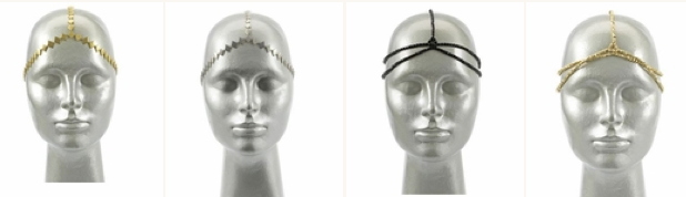 House of Harlow 1960 headpieces